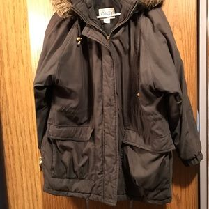 EUC Black Winter Coat